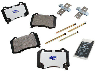 Magneti Marelli 1AMV201053 Rear Semi Metallic Pad Kit