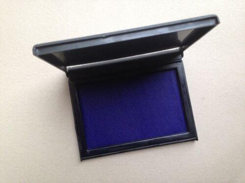 NEW LANCER INK STAMP PAD FOR CLASSIC STAMP RANGE 110 X 70 mm -VIOLET,BLUE,BLACK