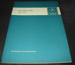 Werkstatthandbuch-Mercedes-W-126-S-Klasse-W-201-190-E-R-107-SL-Motor-Getriebe