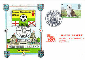 7 FEBRUARY 1979 ENGLAND 4 N IRELAND 0 HOME CHAMPS COMMEMORATIVE COVER - Weston Super Mare, Somerset, United Kingdom - If the item you received has in any way been wrongly described or we have made a mistake regardless of the nature we will pay your return postage costs. If however the error is yours you pay for the return pos - Weston Super Mare, Somerset, United Kingdom
