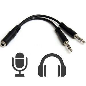 Adaptador-Conversor-Jack-Hembra-4-Pines-a-Doble-Macho-3-5mm-Audio-Micro-PC-a1063