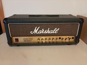 Vintage 1986 Marshall 3210 Lead 100 Mosfet Amp Head, used
