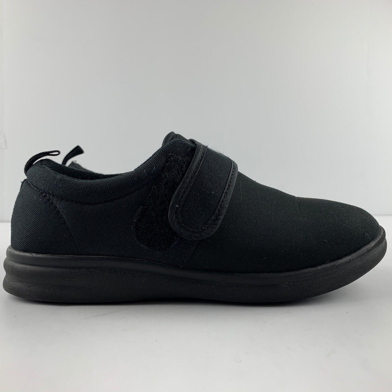 Dr Comfort Marla Femmes US 7 m Noir Confort Chaussure Diabétique Stretch