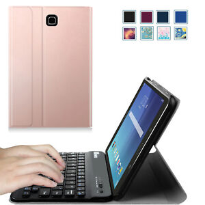 the latest 4e660 749e8 Details about Slim Removable Bluetooth Keyboard Case Cover for Samsung  Galaxy Tab E 8.0 Inch
