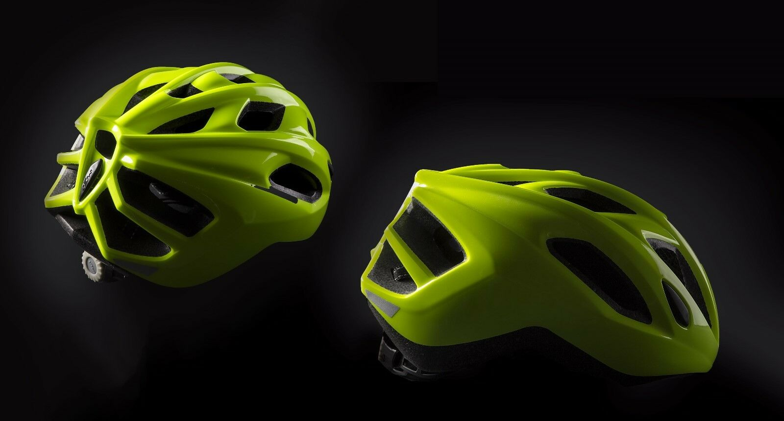 MET Espresso Road Bike Cycling Safety Predective Helmet in Safety Yellow