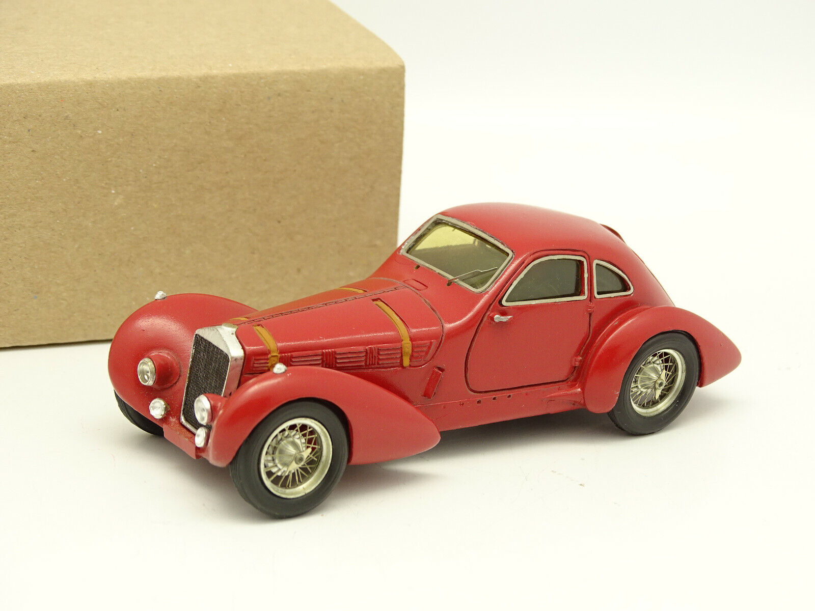 Record Resin Kit Mounted 1 43 - Delage Coupe 1937 Red