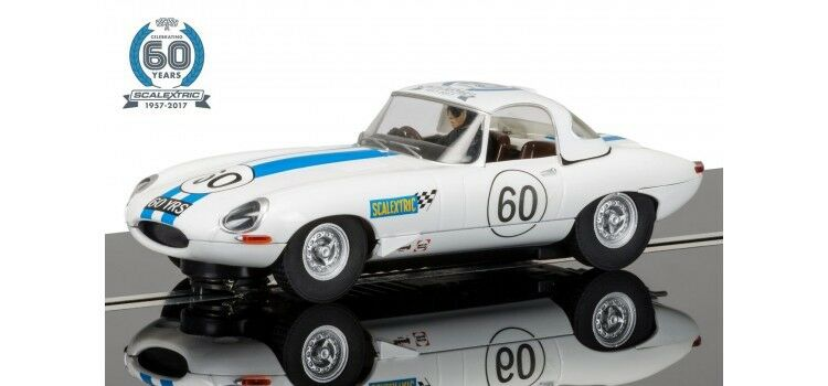 SCALEXTRIC C3826A 1960'S JAGUAR E TYPE 60TH ANNIVERSARY COLLECTION NEW