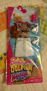 Barbie-Dolphin-Magic-BBQ-Spring-Summer-Dress-Outfit-Fashion-Pack-Puppy-Shoes-New