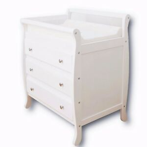 Change table baby chest 3 drawers dresser cabinet changer Nursery chest of drawers with changer