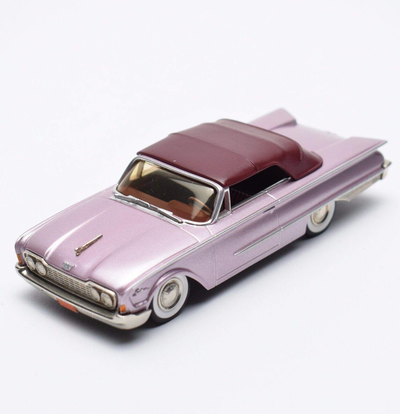 Brooklin models BRK 37 ford sunliner cabriolet año 1960 viola metalizado, 1 43, v007