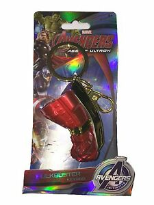 Marvel-Comics-The-Avengers-Iron-Man-Hulk-Hulkbuster-Fist-Pewter-Keyring-67858