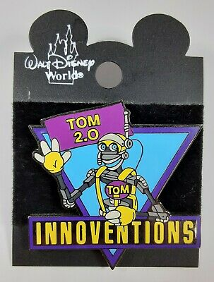 Retired 2001 Walt Disney World Epcot Innoventions Tom Morrow 2 0 Robot Pin Ebay