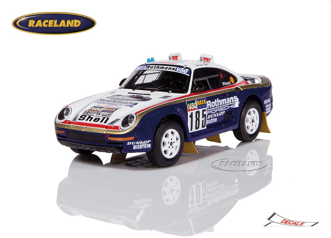 70% de descuento Porsche 959 rojohmans 2 ° rally paris-dakar 1986 1986 1986 Ickx Brasseur, Spark 1 43, s7814  ofrecemos varias marcas famosas