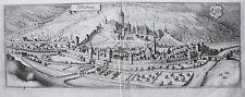 Möckmühl Seck Jaxt Baden-Württemberg echter alter Merian Kupferstich  1643