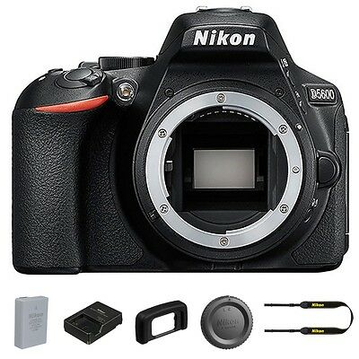 Nikon D5600 DSLR Camera DX-Format Camera Body