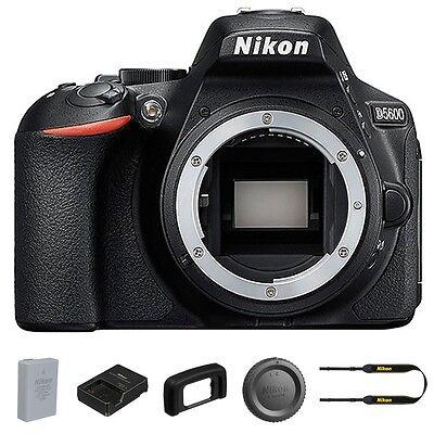 Nikon D5600 DSLR Camera 24.2MP DX-Format Camera Body Only - July 4th Sale