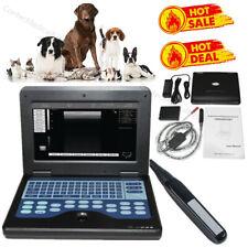 Veterinary Ultrasound Scanner Portable Laptop Machine Animal 75mhz Rectal Probe