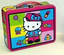 Hello Kitty Squares Tin  Lunch Box