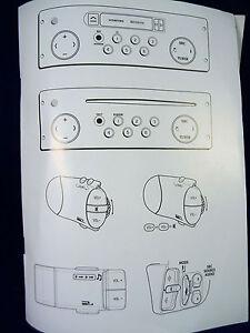 renault gamme radiosat head unit audio radio operating manual rh ebay com Renault Megane Renault Captur