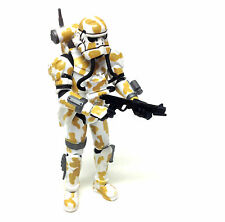 """Star Wars Force Unleashed Video Game IMPERIAL EVO TROOPER 3.75"""" figure toy  RARE"""