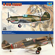 TRUMPETER 1/48 CURTISS H-81A-2 (P-40B) FLYING TIGER  KIT 05807