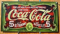Coca-cola Collection Retro Vintage Tin Sign Plate Home Kitchen Decoration Gift