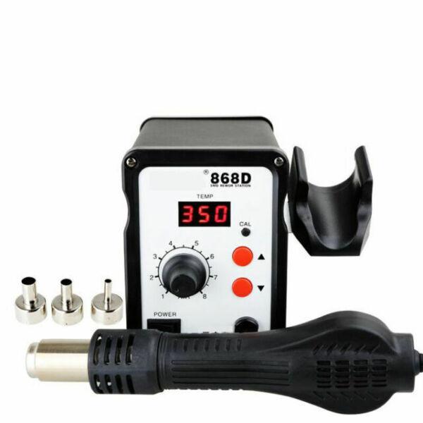 BK-858D SMD Brushless Heat Gun Hot Air Rework Soldering Station 700W 220V NH