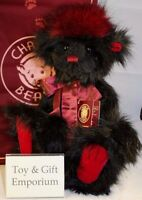HALF PRICE! Charlie Bears RED LIQUORICE (Brand New Stock!)