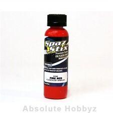 Spaz Stix Fire Red Fluorescent Airbrush (2oz Bottle) - SZX02300