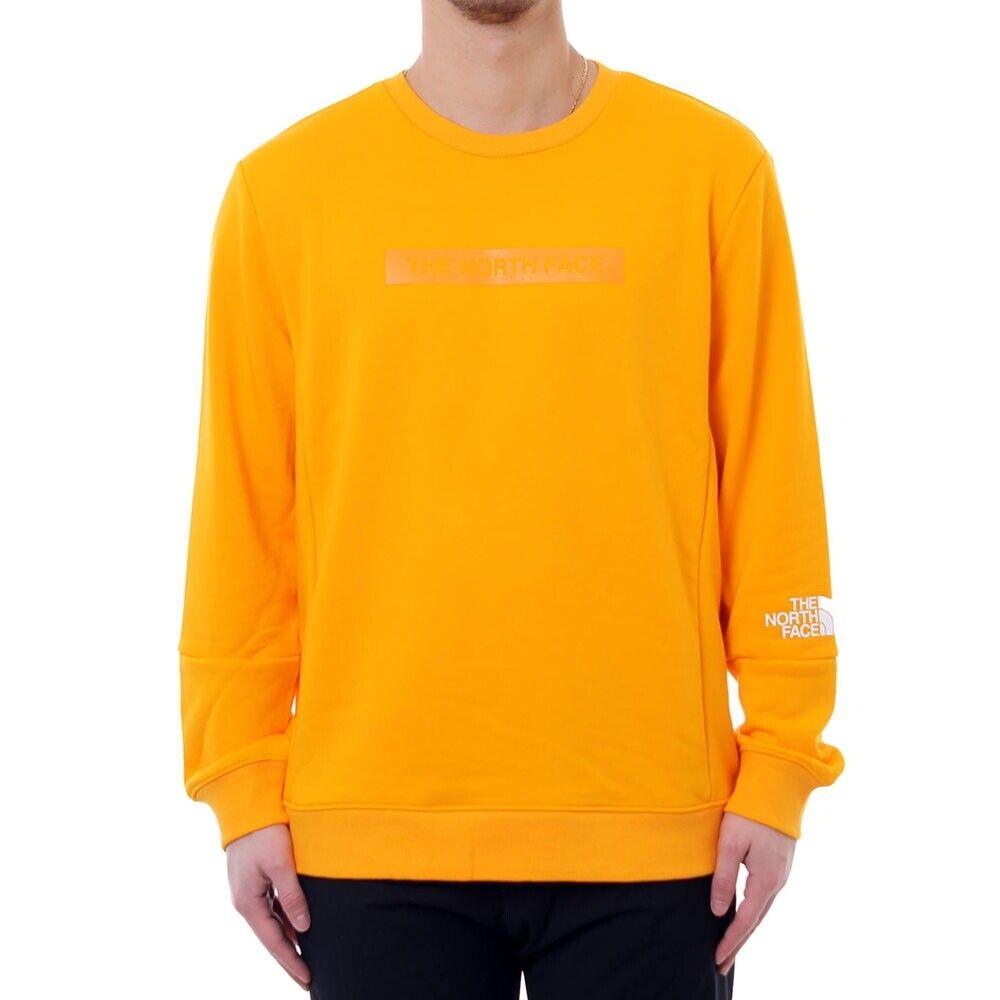 The North Face Sweatshirt Lht Crew T93rydh6g orange Mod. T93rydh6g-kh22