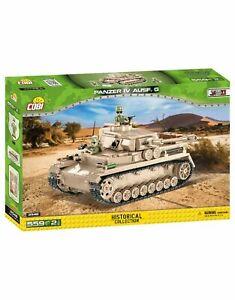 Cobi 2546 Panzerkampfwagen IV Ausf. G - 559 Teile / 2 Figuren sofort lieferbar