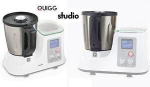 das bild wird geladen edelstahl mixbehaelter fuer quigg studio kuechenmaschine ersatzteil