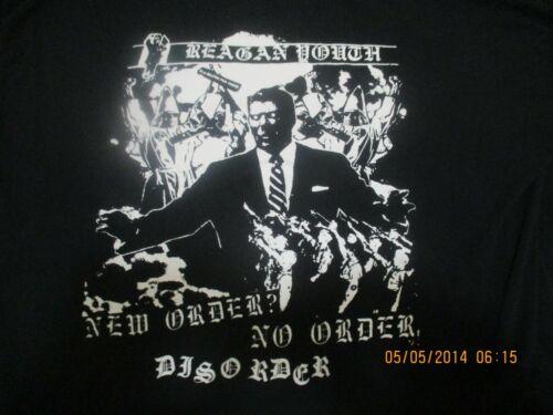 reagan youth new order no order disorder XL