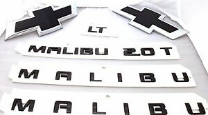 2016 - 2020 Chevrolet Malibu GM Black Bowties Side Door ...
