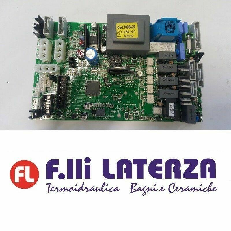 EDILKAMIN R1020420 SCHEDA OMNICARD LX 64 HY- RIC Cod. 1020420 ORIGINALE
