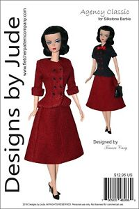 sewing pattern for the Tyler Wentworth doll by Tonner Classic 40/'s