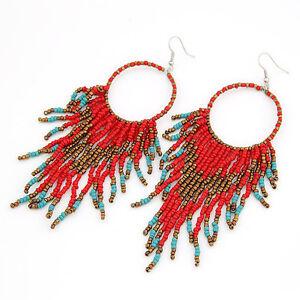 indio-Pendiente-de-perlas-al-estilo-indio-Arete-de-Perla-Rojo-Azul-Oro