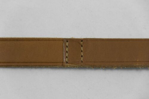 Ralph Lauren Genuine Light Brown Leather Double Wrap Belt sz M $295 BNWT