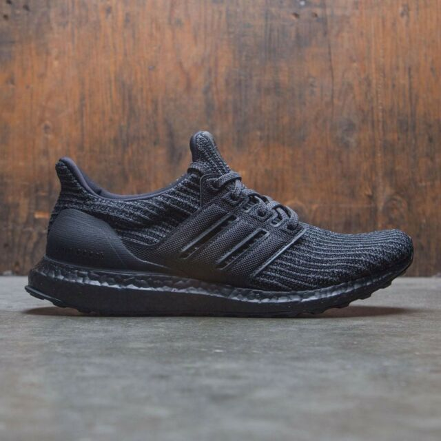 newest 251f9 e4154 adidas Ultra Boost 4.0 Triple Black Bb6171 Size 9.5