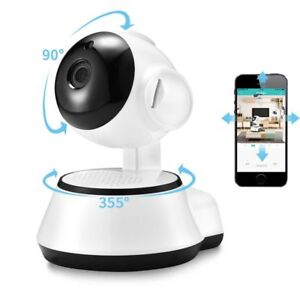 Details about Camera Wifi Security Wireless HD Night Vision Home Light Bulb  360° 720p iCSee