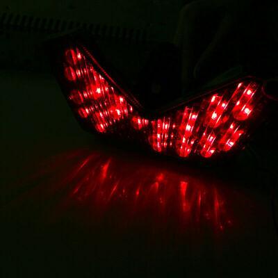 Integrated Clear LED Tail Brake Light For Kawasaki Ninja ZX14R 2006-2013
