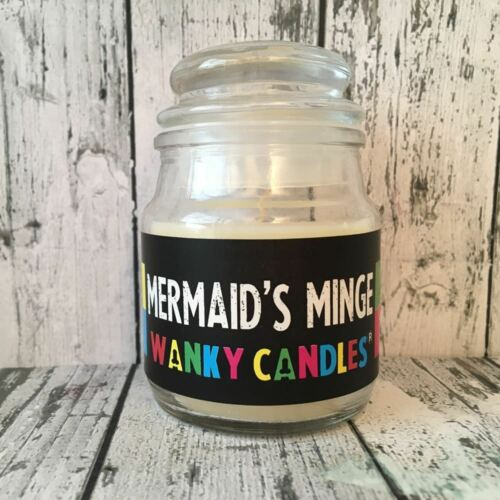 Rude Fun Gift Christmas Secret Santa Present Mermaids Minge Wanky Candle