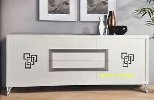 Credenza Contemporanea : Credenza in legno con ante stile contemporaneo idfdesign