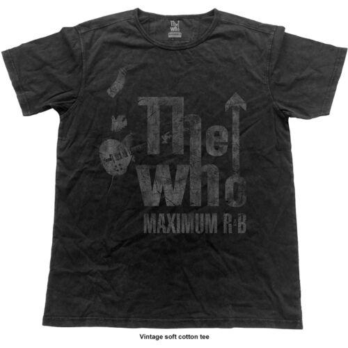 The Who Max R/&B Vintage Official Merchandise T-Shirt M//L//XL Neu