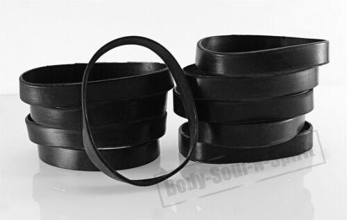 Blank Black Silicone Wristband powerful Rubber Bracelet good karma Bangle gift