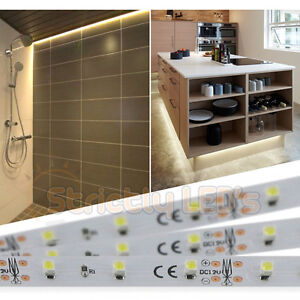 new product b154d e19ea Details about LED STRIP LIGHTS WARM WHITE LED TAPE KITCHEN MOOD UNDER  CABINET PLINTH LIGHTING