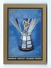 """2006-07 Beehive GOLD Card #MRT of the Maurice """"Rocket"""" Richard Trophy"""