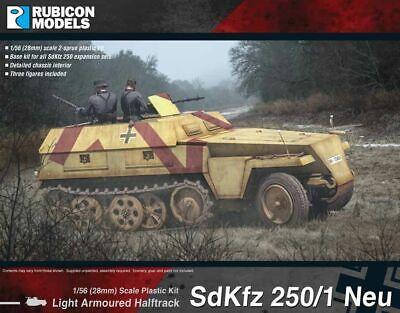 Ambizioso Rubicon Modelli Veicolo Sd. 250/1 Nuovo 1/56 28mm German Wwii Achsenmächte Ww2