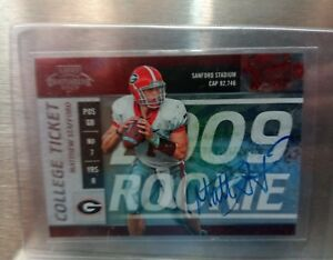 2009-Playoff-Contenders-College-Rookie-RC-Auto-Matthew-Stafford-61