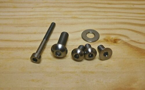 Ti Parts Workshop 2//6 Speed Shifting Pusher Titanium Bolt Set for Brompton
